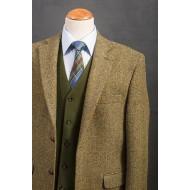 Harris Tweed Jasje met moleskin vestje