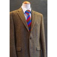 Harris tweed visgraat jasje
